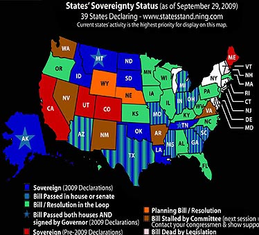 State Sovereignty Map