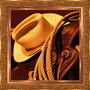 Cowboy Hat N Saddle